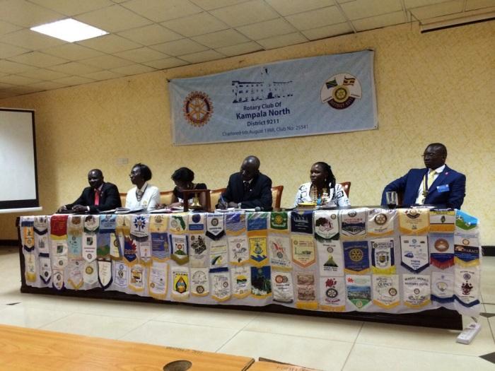 The Presidents and Kampala South Secretary