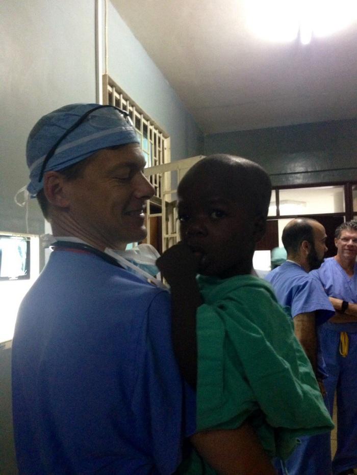 Dr. Walker and Ukasha