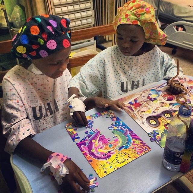 """Puzzles!  Patience's first English words and communication with us.. Celebrating with a fist pump and a """"yay"""" with EVERY matched piece!  :)"""