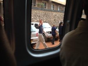 Boda Boda Group going to fetch their rides...